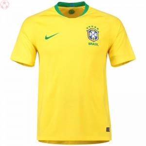 耐克世界杯巴西足球队服内马尔主场短袖球衣