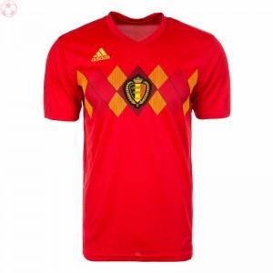 阿迪达斯世界杯红魔比利时足球队服主场短袖球衣正品BQ4520